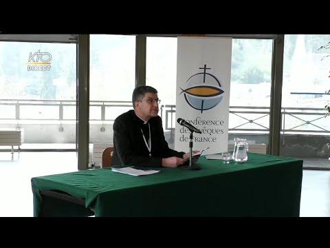 Discours de clôture de l'assemblée plénière des évêques de France