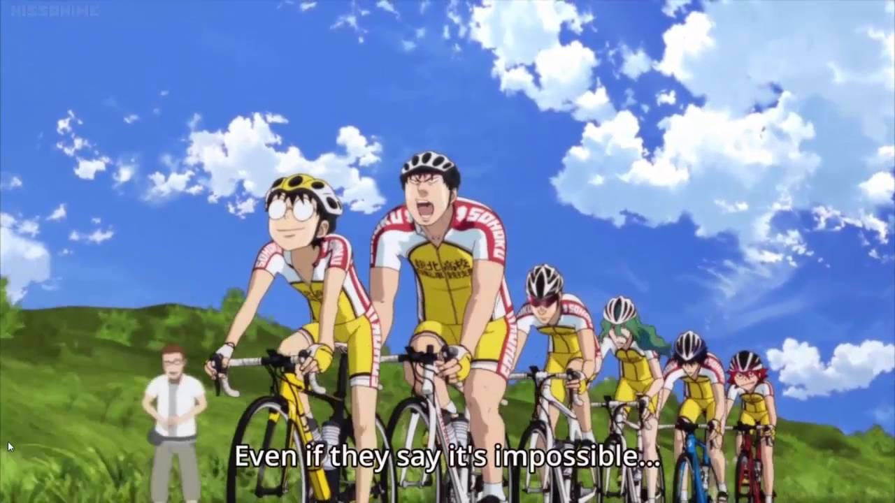 Yowamushi Pedal Love Hime