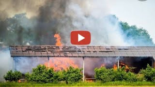 [Bauernhofbrand bei Wehrführer] Einsatzfahrten zum Bauernhofbrand Bevergern