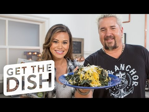Video Spaghetti Squash & Kale Salad with Guy Fieri | Get the Dish