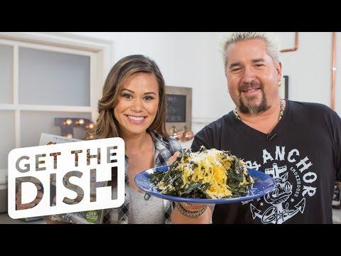 Spaghetti Squash & Kale Salad with Guy Fieri | Get the Dish
