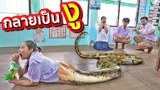 นอนกินระวังเป็นงู!!! 7 ความเชื่อที่ห้ามทำที่โรงเรียน | พี่เฟิร์น 108Life Half Woman Half Snake