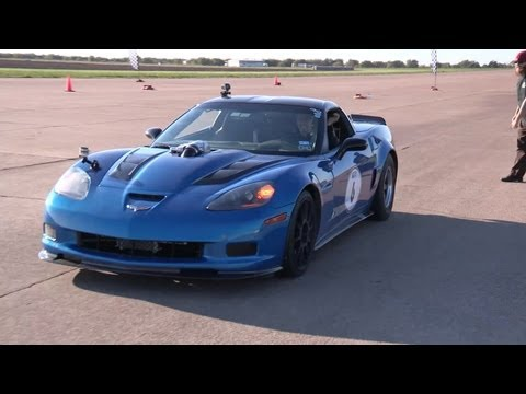 King of the Street Finals - Twin Turbo Corvette vs GTR