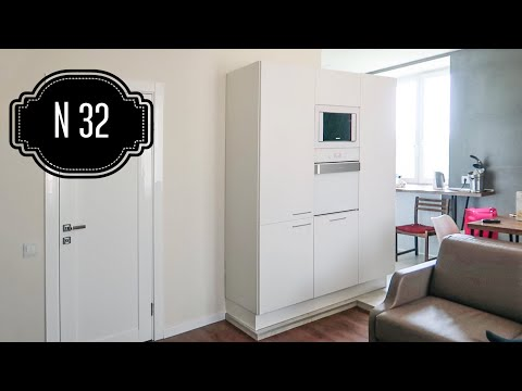 АБСОЛЮТНО БЕЛАЯ квартира. Обзор интерьера трехкомнатной квартиры. Дизайн хрущевки. РУМТУР.