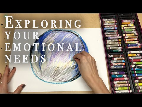 Art Therapy Exercise - Exploring Emotional Needs