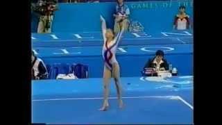 Andreea Raducan (ROM) FX AA - Sydney Olympics 2000