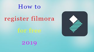 How to register wondershare filmora for free | 100% work | latest update 2018
