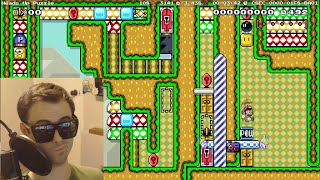 Mario Maker - ♪ We Are The Champions ♪   Insanely Creative Puzzles by Seanhip #7 (And Records!)