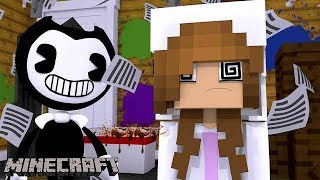 BABY ELLIE IS BRAINWASHED BY BENDY AND BORIS THE WOLF !! Minecraft (Custom Roleplay) w/ Little Kelly