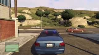 Grand Theft Auto 5 - How to get the RARE unmarked police car GTA V