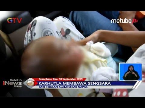Dua Bayi Dilarikan ke Rumah Sakit Akibat Menderita ISPA - BIS 18/09