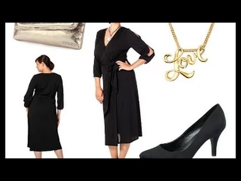 Lange Abendkleider für Große Größen und lange Ärmel + Outfit Tipps