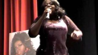 "Angie Stone sings ""Maybe"" Live at The Experience"