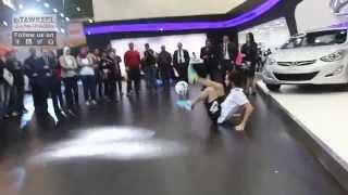 يوسف ايمن يستعرض مهاراته بكرة القدم بجناح هيونداي بأوتوماك فورميلا