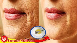 Remove Wrinkles Around Mouth Naturally With This 1-Minute Technique || Home Remedies For Wrinkles