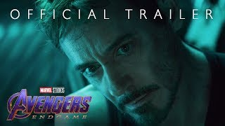 NEW MOVIE ALERT: Marvel Studios' Avengers: Endgame