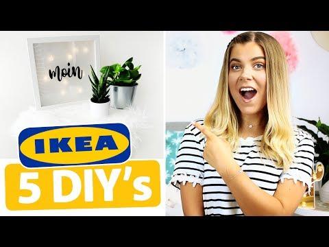 5 MEGA EINFACHE IKEA DIY's im LIVE TEST! 😱🔨| COCO