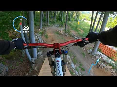 Monínec bikepark 2020 modrá