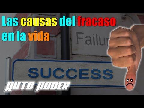 Las causas del fracaso en la vida
