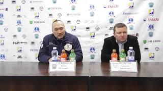 Пресс-конференция «Алтай Торпедо» - «Ertis» 4:3 Б, 3:4 ОТ