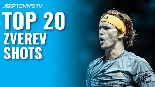 Alexander Zverev's Top 20 Best ATP Tennis Shots
