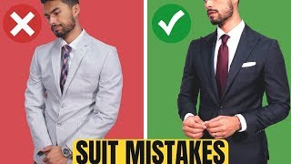 10 ROOKIE Suit Mistakes Men Make (And How To Fix Them)