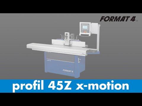 FORMAT-4® – profil 45 Fräsmaschine
