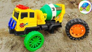 Concrete Mixer Truck Repair - Find Car Toy | Kid Studio