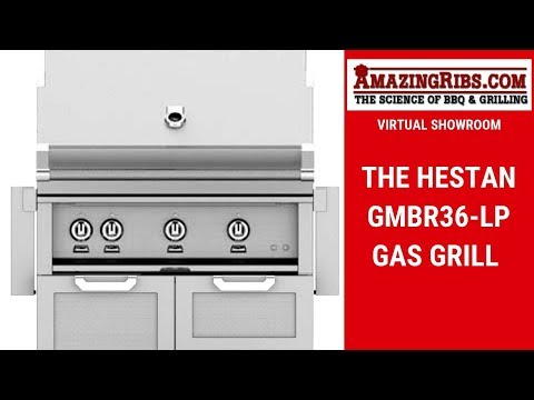 Watch This Review Of The Hestan GMBR36-LP Gas Grill