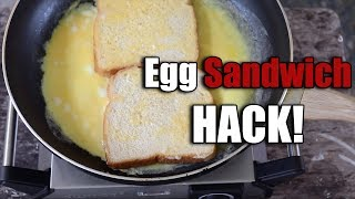 Egg Sandwich Hack - Fast & Easy Breakfast