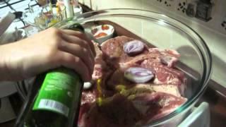 Свинина приготовленная в аэрогриле. Remix