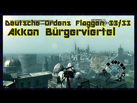 [Assassins Creed 1] Akkon Bürgerviertel Deutsche Ordensflaggen 33/33