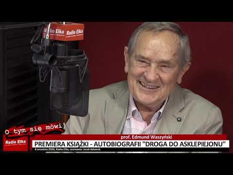 Wideo1: Prof. Edmund Waszyński napisał autobiografię. Książka trafia do sprzedaży