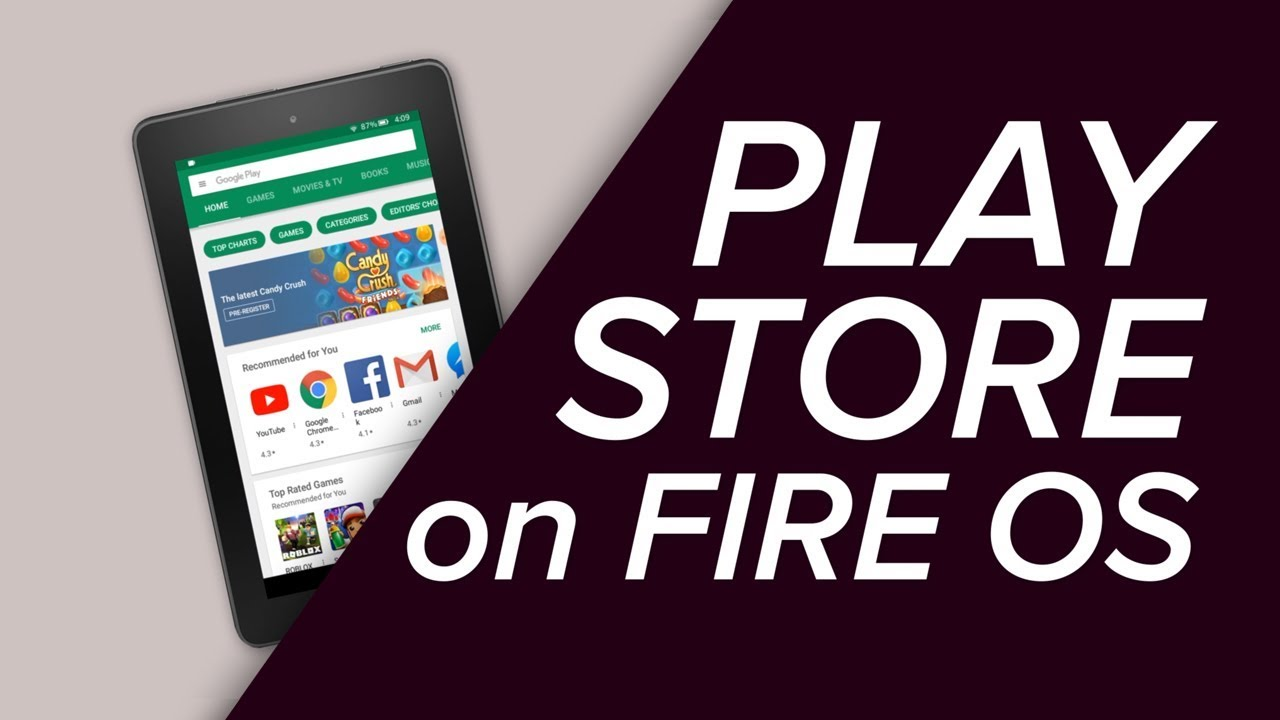 Como instalar a Play Store no seu tablet Amazon Fire HD sem root