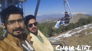 preview picture of video 'Malam Jabba Chair Lift Kashmir Day'