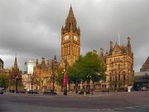 No225. Англия # Обзор  города Манчестера