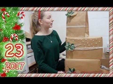 VLOGMAS 2017 #23 - to ile prezentów dostaną rodzice?