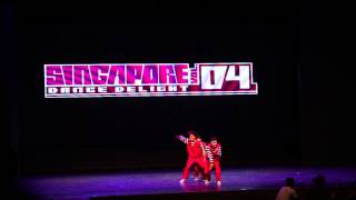 Feel So Funky - Singapore Dance Delight Vol. 4 Finals (2013)