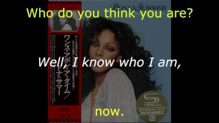 "Donna Summer - If You Got It Flaunt It LYRICS - SHM ""Once Upon A Time"" 1977"