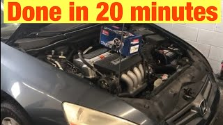 How to Replace the Starter on a 2002-2007 Honda Accord with 2.4L Engine in 20 Minutes