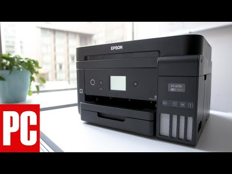 Epson WorkForce ET-4750 EcoTank All-in-One Supertank Printer Review