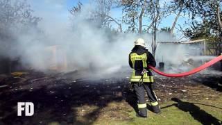 preview picture of video 'FF Schönefeld - Feuer Laube - Hubertus, Rehtränke - 17.09.2009'