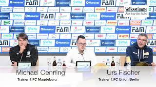 FCM nach dem Spiel gegen Union
