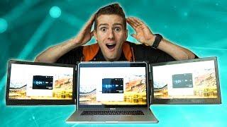 The REAL Triple Monitor Laptop - Slidenjoy *UPDATE IN DESCRIPTION*