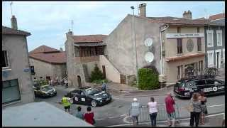 preview picture of video 'Tour du Limousin 2012 - Chateauponsac'