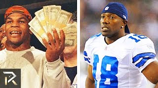 10 Rich Athletes Who Lost ALL Their Money
