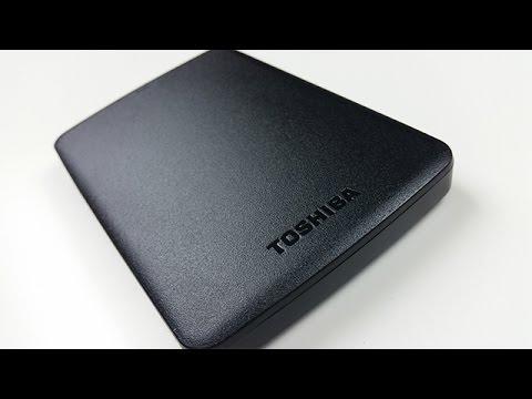 Die schlaue, schnelle und kleine Festplatte - Toshiba Canvio Basics - Dr. UnboxKing - Deutsch