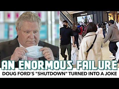 """Doug Ford's """"Shutdown"""" Turned Into A Joke Just 1 Day In"""