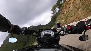 Triumph Street triple RS 765 Scorpion exhausts RP-1 GP - hmong video