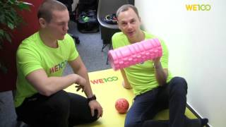 Materials You Need | We100 Office Fitness Videos | Eps 04